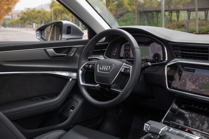 Апгрейд в бизнес-классе: 10 преимуществ нового Audi A6 (фото 11)