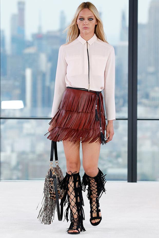 Четыре показа Саши Пивоваровой на Неделе моды в Нью-Йорке (фото 1)