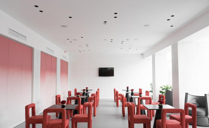 Современный образовательный центр с розовыми акцентами (фото 4)