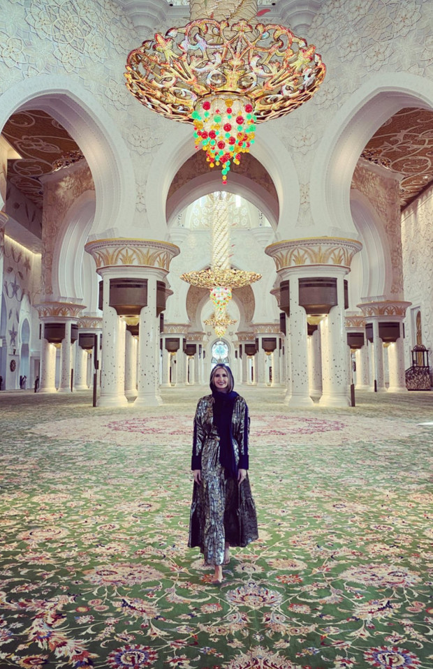 Арабская сказка: Иванка Трамп в Абу-Даби (фото 4)