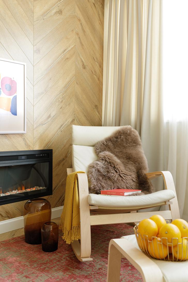 Светлая квартира 125 м² в теплой гамме (фото 10)