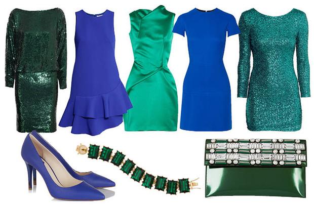 Выбор ELLE: платья Givenchy, H&M, Roland Mouret, Victoria Beckham и H&M, туфли Fendi, браслет Eddie Borgo, клатч Marni