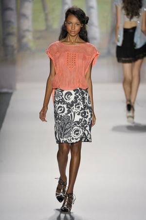 Показ Tracy Reese коллекции сезона Весна-лето 2012 года prêt-à-porter - www.elle.ru - Подиум - фото 293654