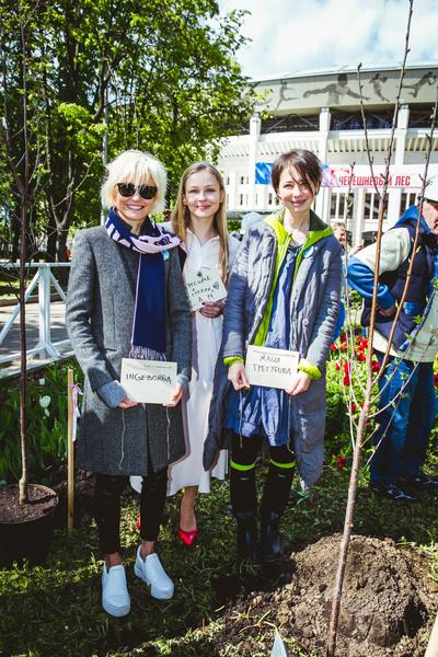 Посадка вишневых деревьев в рамках фестиваля «Черешневый лес» | галерея [2] фото [15]