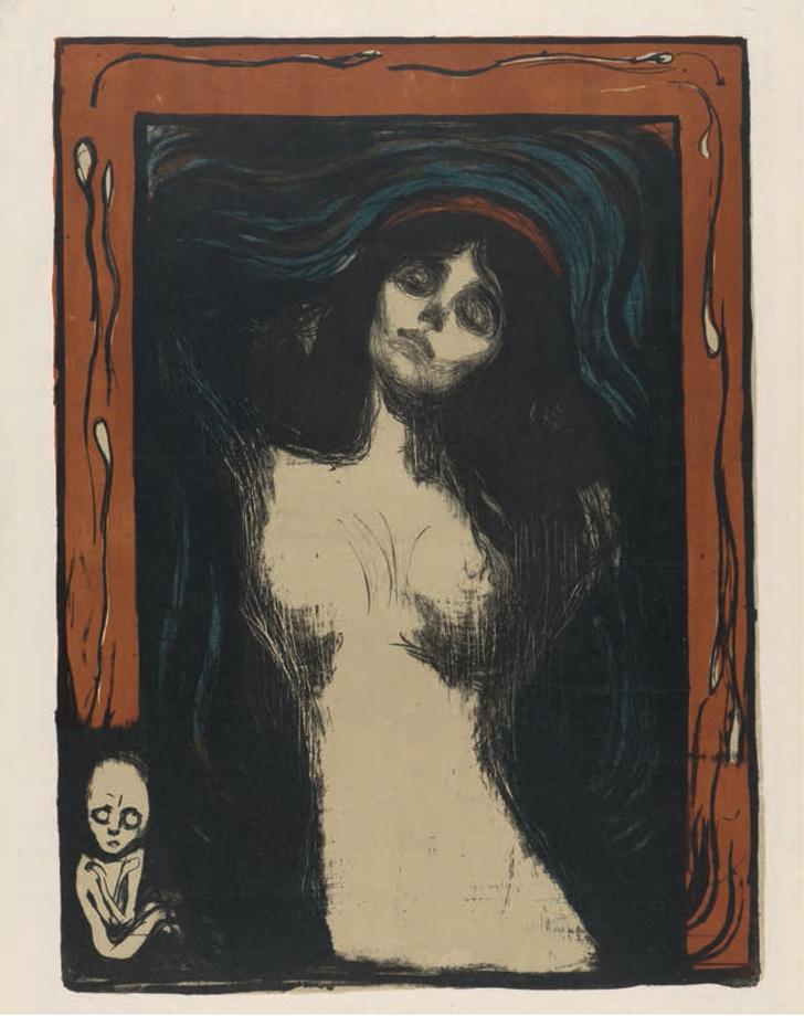 В Третьяковской галерее открывается выставка Эдварда Мунка (фото 2)