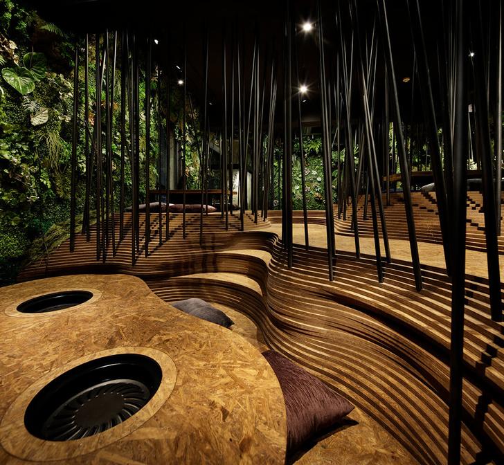 Nikunotoriko: японский ресторан в пещере (фото 10)