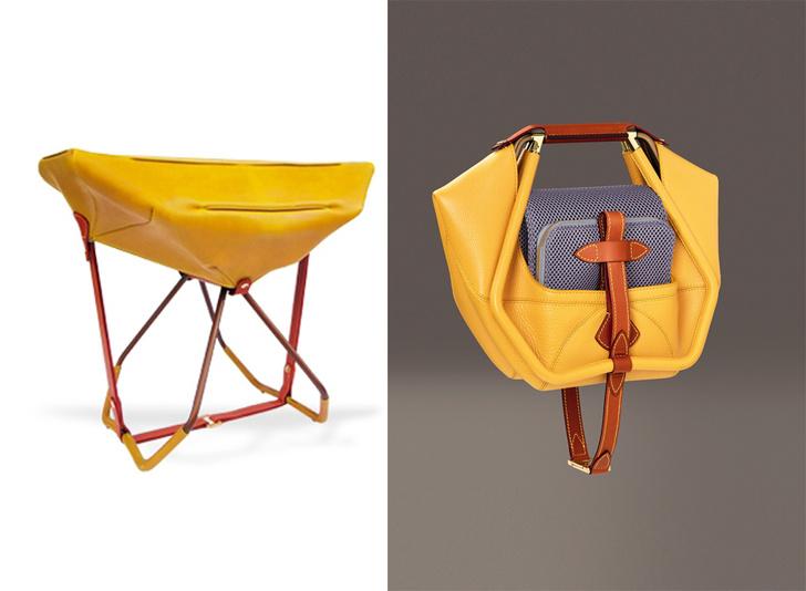 Табурет-сумка, Louis Vuitton