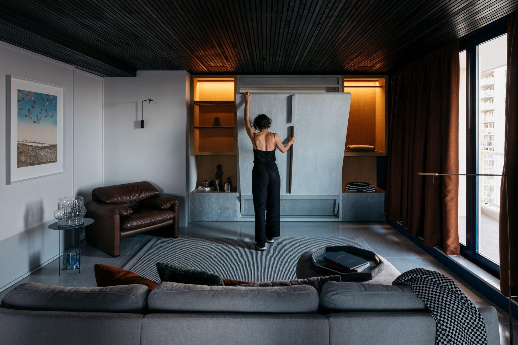 20 интерьеров с необычным потолком (галерея 0, фото 0)