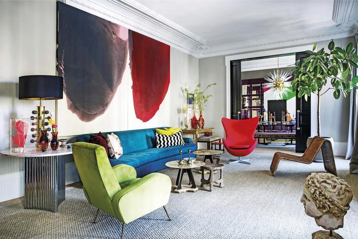 Жизнь прекрасна: квартира в центре Мадрида (фото 7)