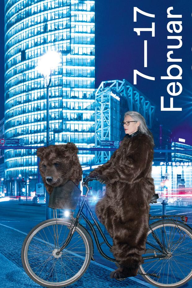 Медведи на велосипеде: как выглядят официальные постеры Берлинале (фото 4)