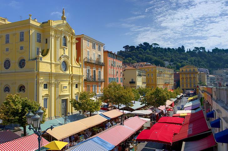 Цветочный рынок Cour Saleya