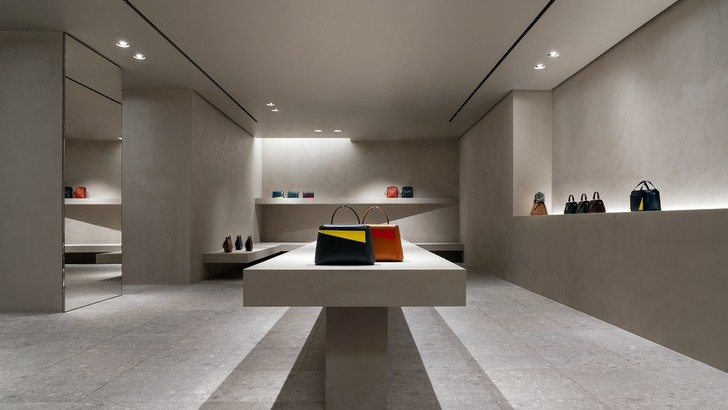 Редизайн бутика Valextra по проекту Джона Поусона (фото 0)