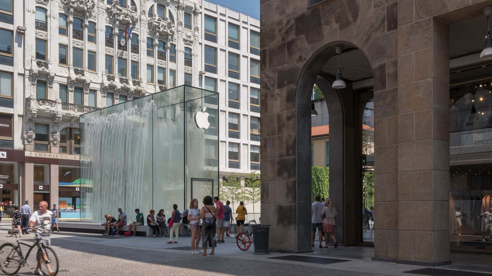 10 самых эффектных бутиков Apple (галерея 35, фото 5)