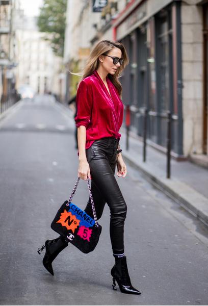 91 лучших street style образов Недель моды   галерея [1] фото [91]