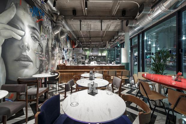 Ресторан «Кастинг» в кинотеатре «Октябрь» от студии MAST (фото 3)