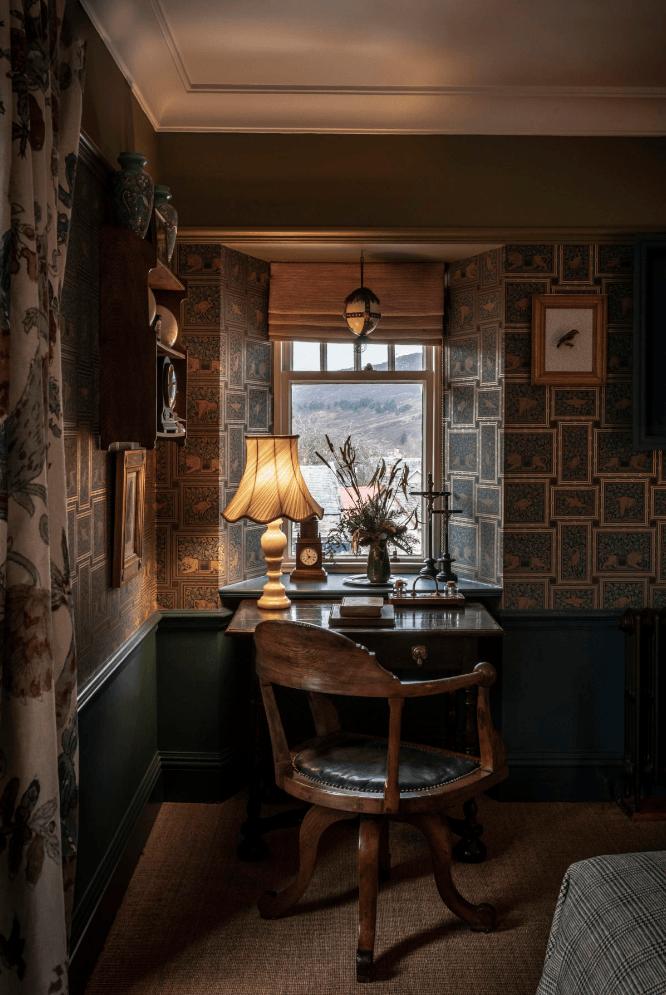 Отель в старинном охотничьем домике в Шотландии (фото 7)
