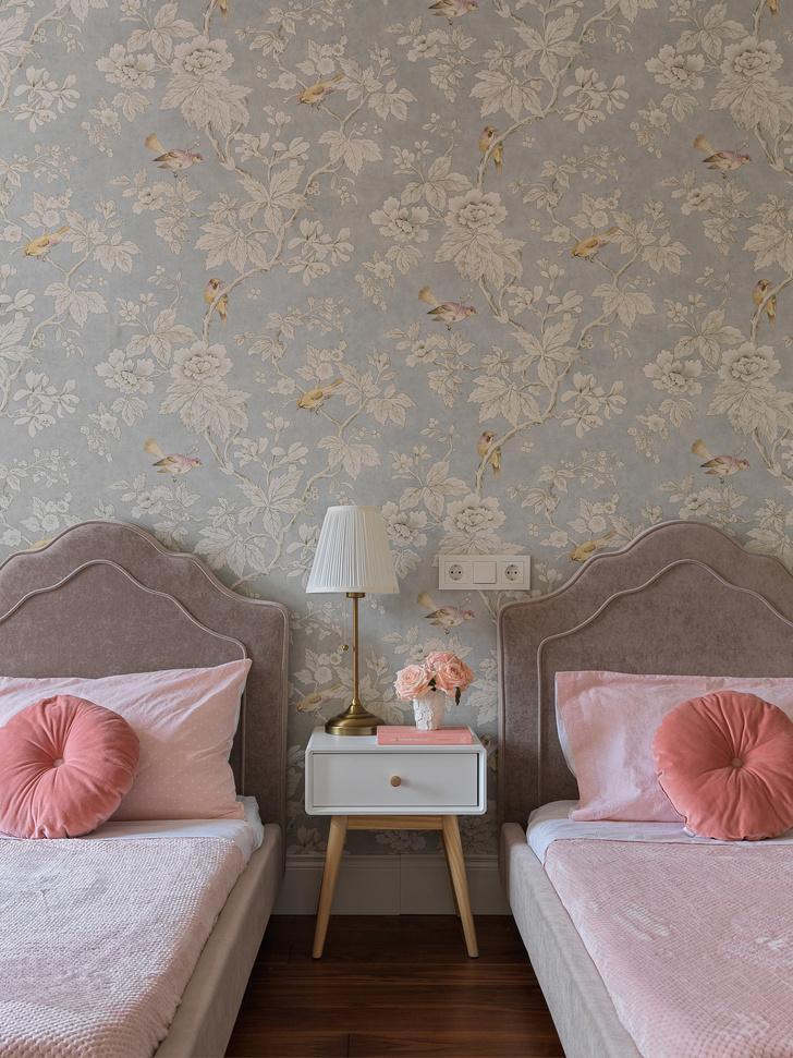 Квартира для семьи с тремя детьми в классическом стиле 140 м² (фото 13)
