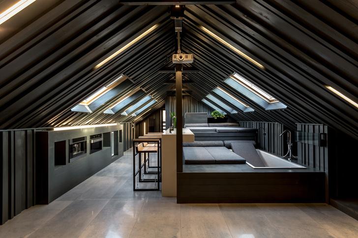 Под самой крышей: комнаты в мансардах (фото 6)