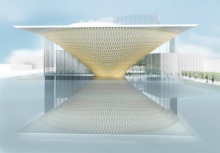В Японии будет построен культурный центр Фудзияма