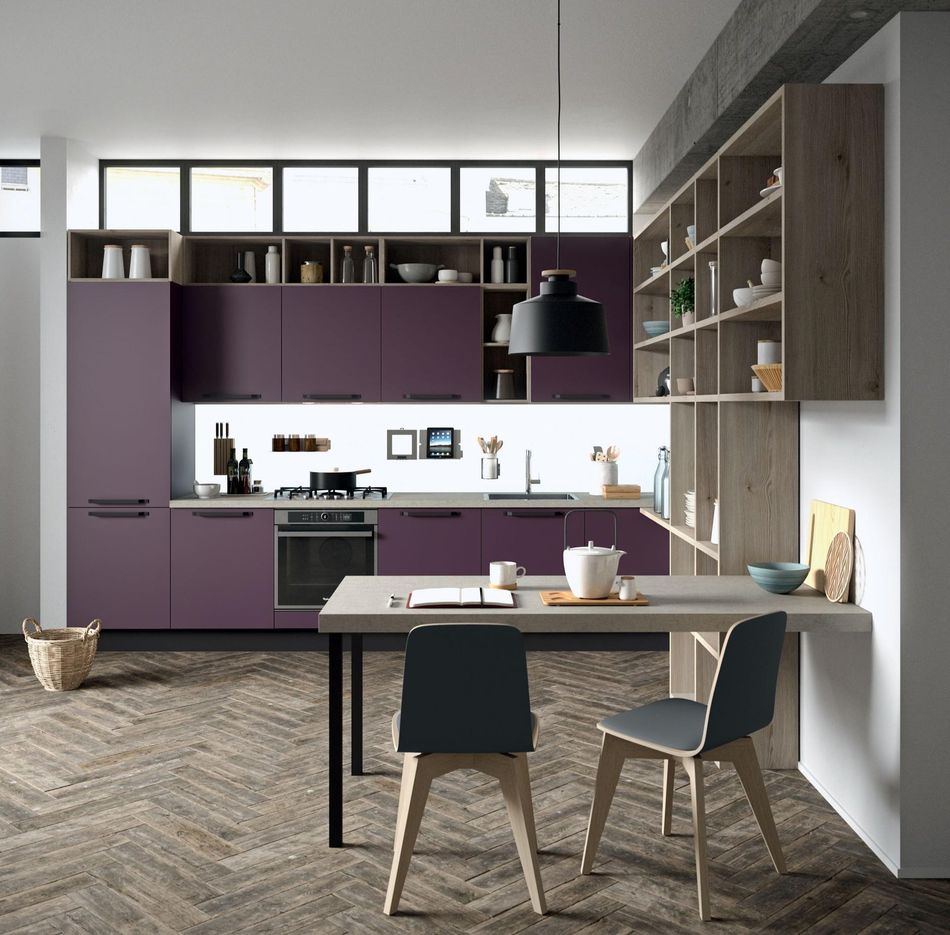 Топ-7: Новая кухня Aran Cucine и другие предметы в цвете «баклажан ...