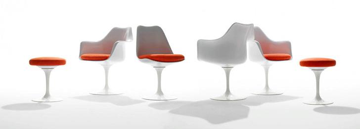 Культовый объект: стул Tulip Ээро Сааринена (фото 8)