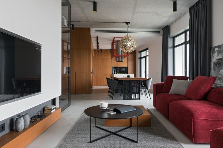 Минималистичная квартира 118 м² в Минске (фото 2)