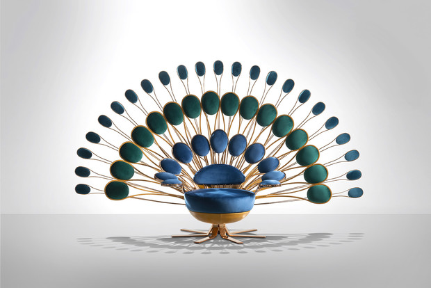 """Кресло """"Павлин"""" от Visionnaire (фото 1)"""