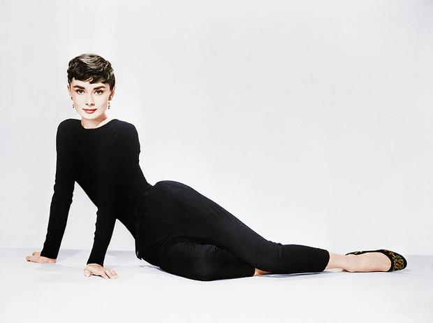 Черные балетки Одри Хепберн