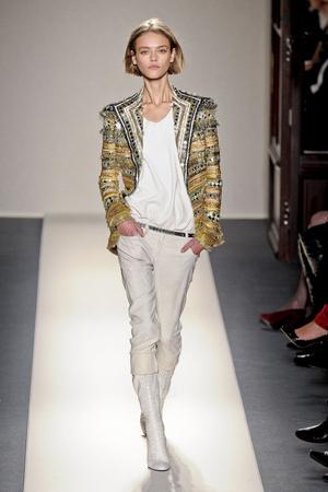 Показы мод Balmain Осень-зима 2011-2012 | Подиум на ELLE - Подиум - фото 2174