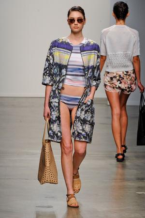 Показ Rachel Comey коллекции сезона Весна-лето 2013 года prêt-à-porter - www.elle.ru - Подиум - фото 409842