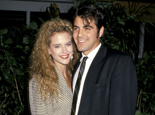 Джордж Клуни и Келли Престон фото