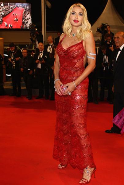 Валерия Марини на премьере фильма «Сноска»