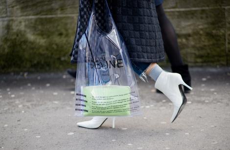 Что носили на Неделе моды в Париже? (фото 1)