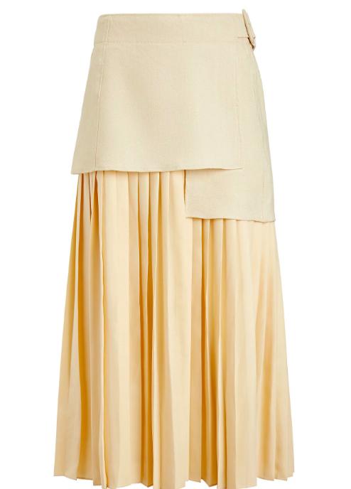 Какую юбку мы будем носить этим летом? Плиссированную! (фото 10)