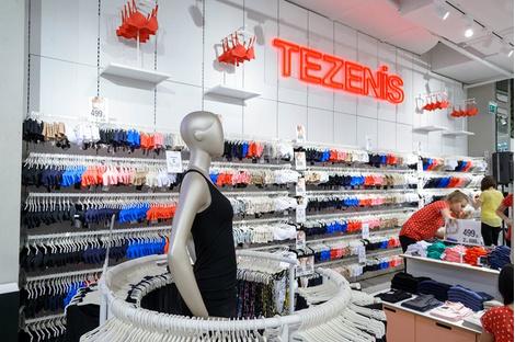 В «Европейском» открылся самый большой в Европе магазин Tezenis | галерея [1] фото [2]