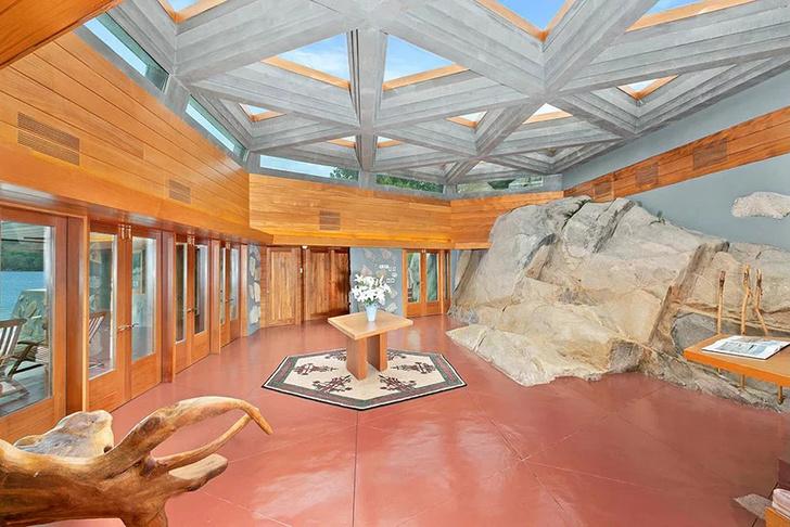 Под Нью-Йорком продается частный остров с домами Фрэнка Ллойда Райта (фото 5)