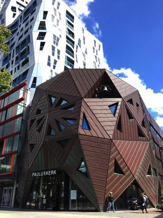 Кубические дома Пита Блома фото [13]