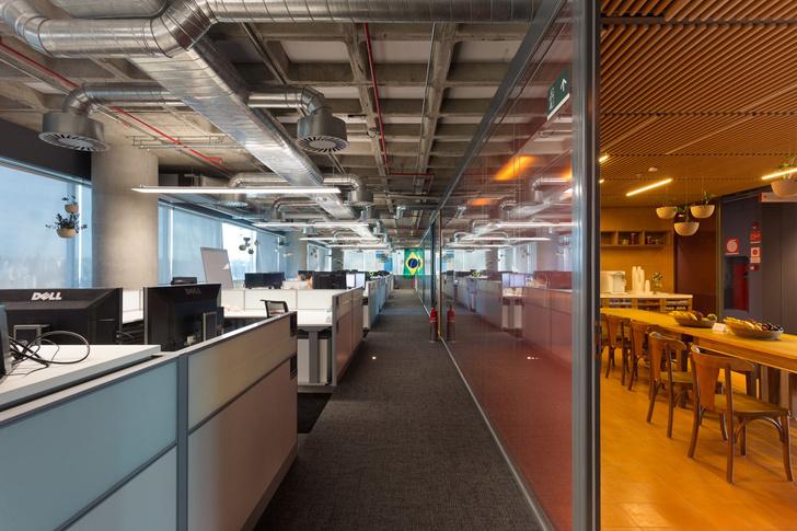 Необычный офис Google в Бразилии (фото 9)