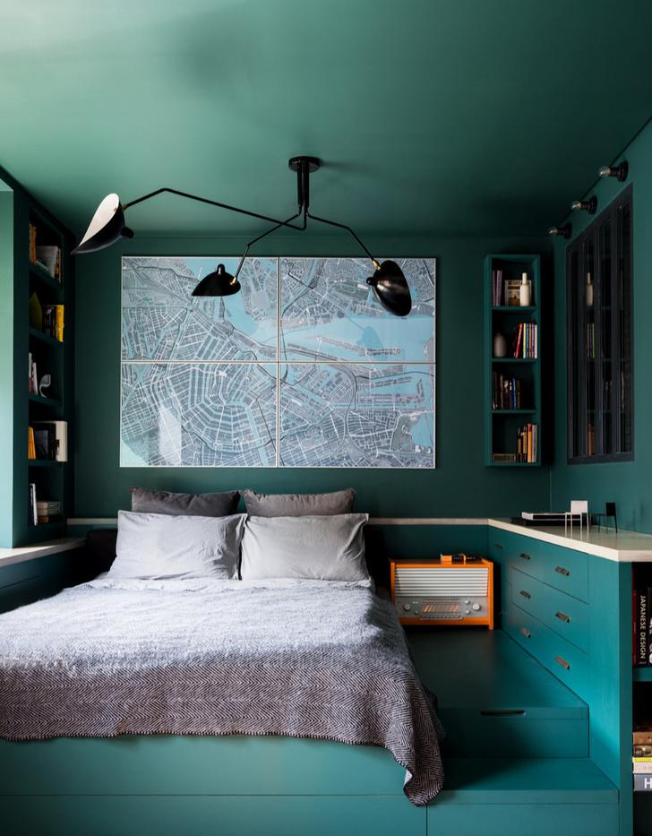 7 правил интерьера маленькой спальни (фото 17)