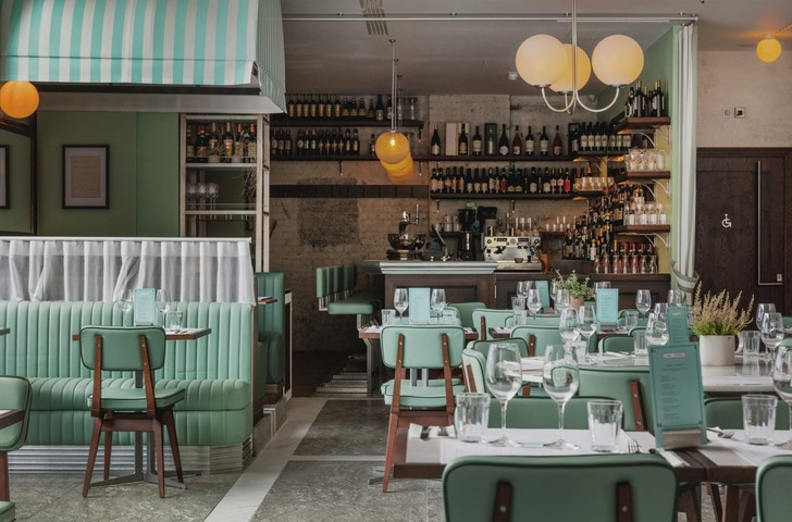 Ресторан Lina Stores в историческом районе Кингс-Кросс (фото 8)
