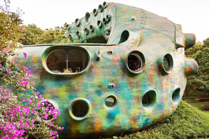 «Гнездо Кетцалькоатля» можно снять через Airbnb (фото 12)