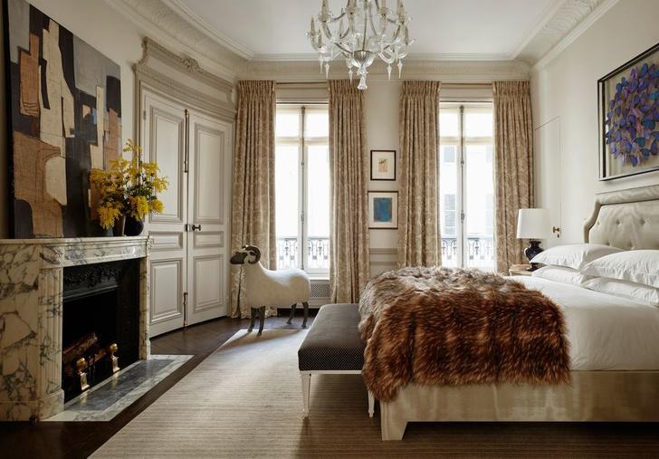 Эклектичный интерьер квартиры в Париже (фото 10)