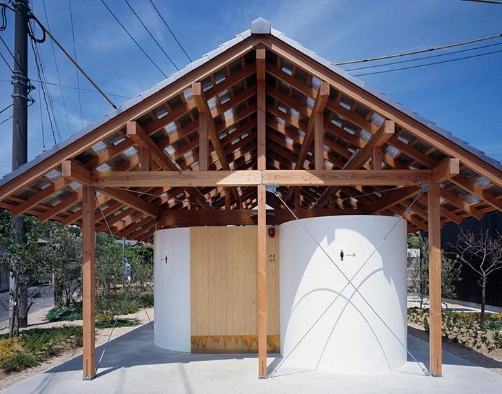По-маленькому: дизайнерские общественные туалеты (фото 25)