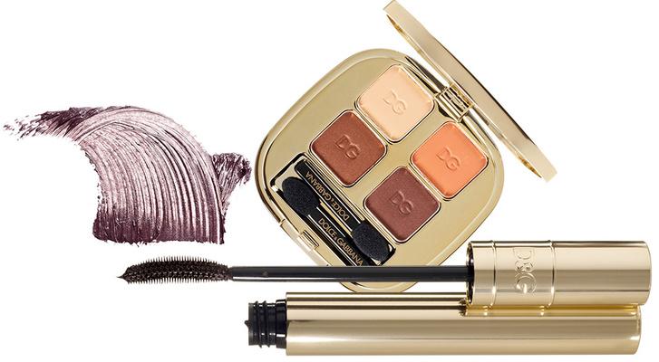 Тушь для ресниц Passioneyes, 2, Dolce & Gabbana DVolumeBE740, Shiseido; Тени Smooth Eye Colour Quad, 115, Dolce & Gabbana