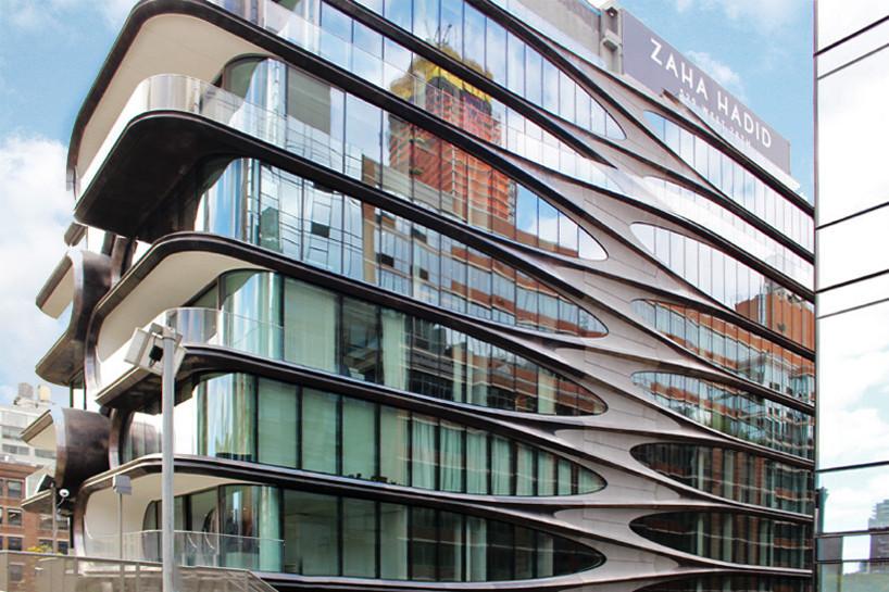 Первое жилое здание Захи Хадид в Нью-Йорке готово к заселению | галерея [1] фото [15]