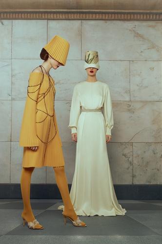 Свадебные платья в стиле 50-х, шляпы и безупречная вышивка: лукбук Edem (фото 8.1)