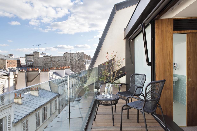 4698fd98d34 Новый бутик-отель в центре Парижа (фото 2)