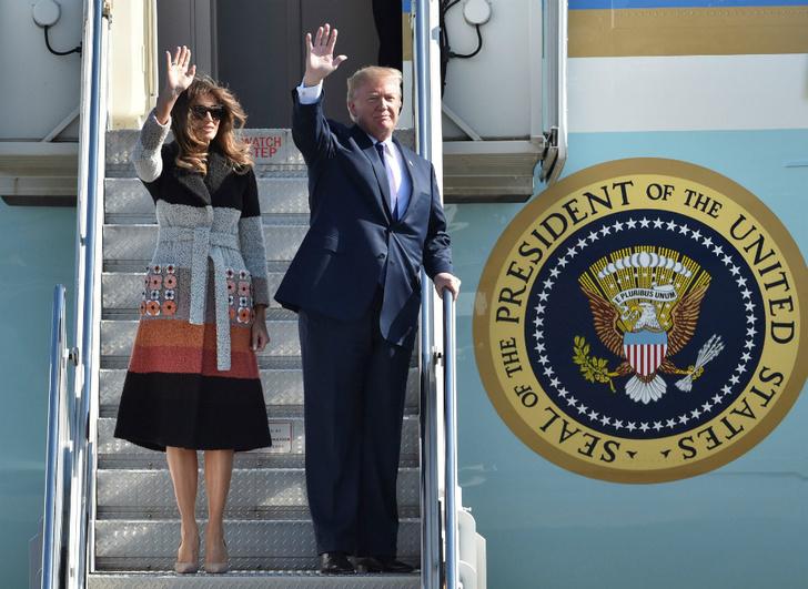 Два новых образа Мелании Трамп фото [2]