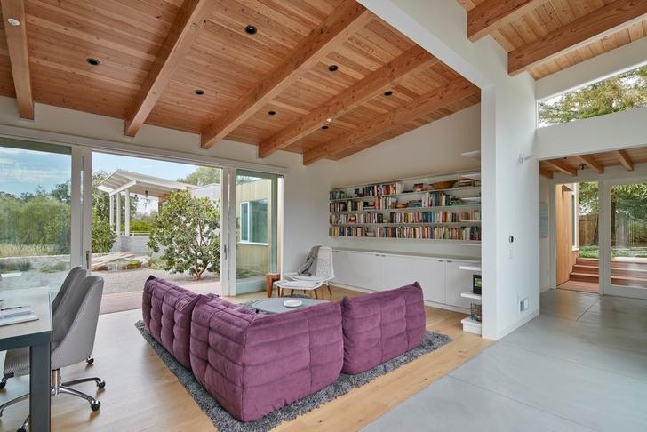 Просторное ранчо на севере Калифорнии по проекту Malcolm Davis Architecture (фото 7)