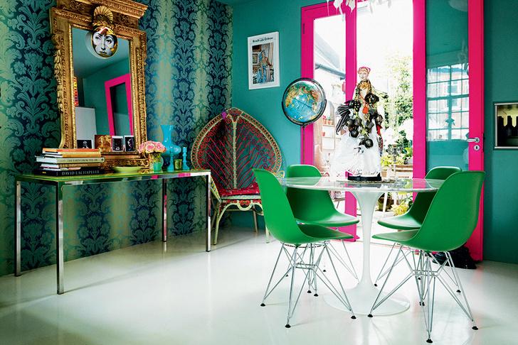 25 интерьеров зеленого цвета (галерея 0, фото 21)